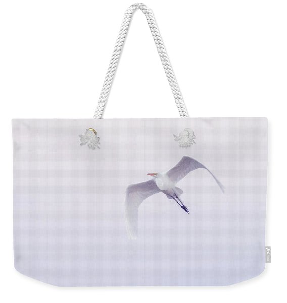 Great Egret 6296-021118-1cr Weekender Tote Bag