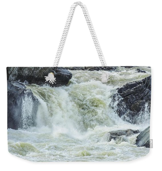 Great Falls Of The Potomac Weekender Tote Bag