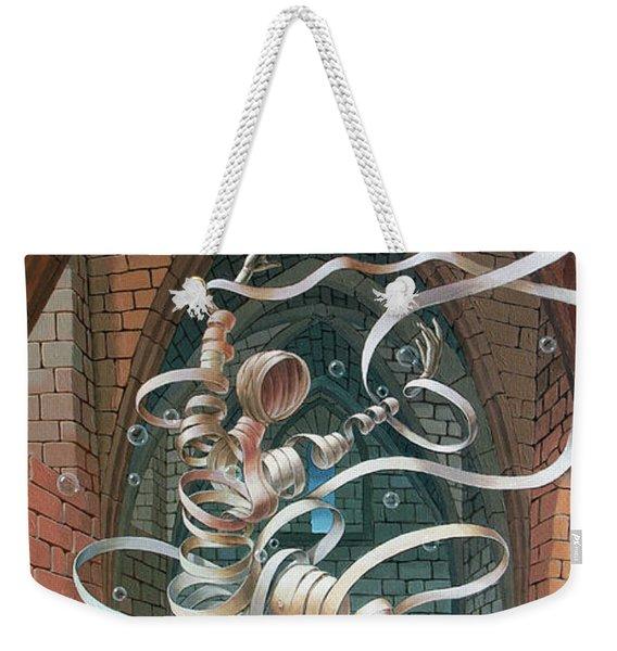 Great Ghost Of Caesarea Weekender Tote Bag