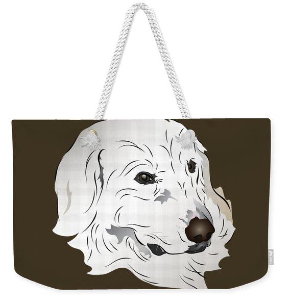 Great Pyrenees Dog Weekender Tote Bag