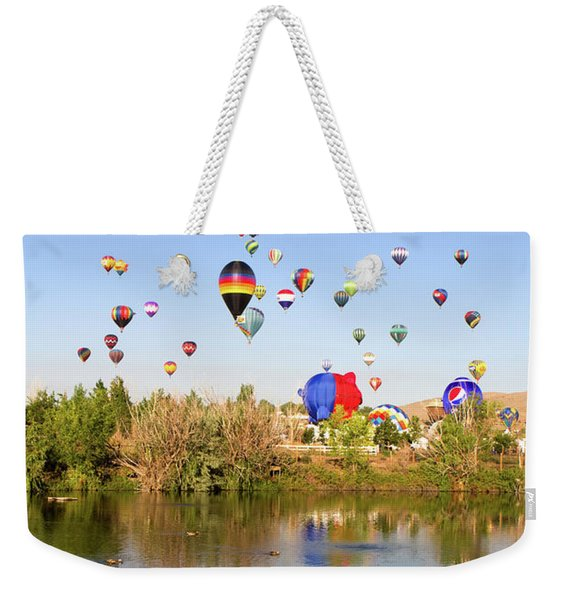 Great Reno Balloon Races Weekender Tote Bag