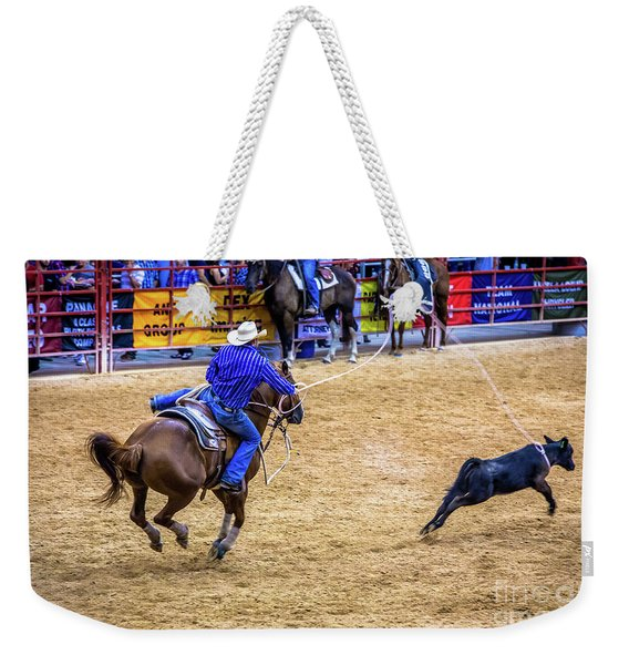 Great Roping Weekender Tote Bag