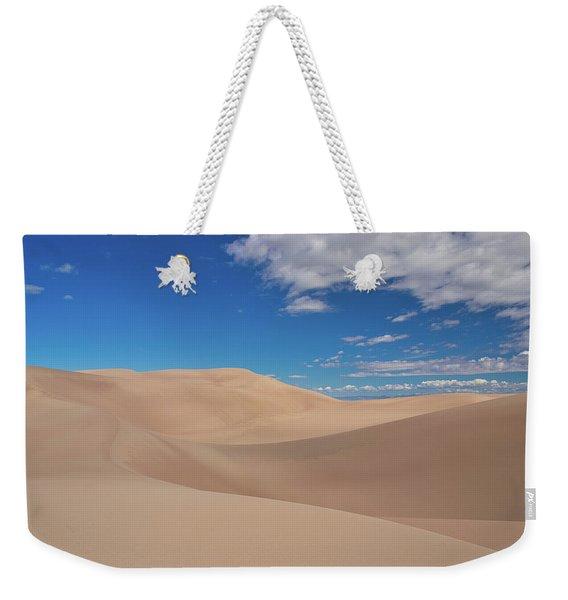 Great Sand Dunes Under A Blue Sky Weekender Tote Bag