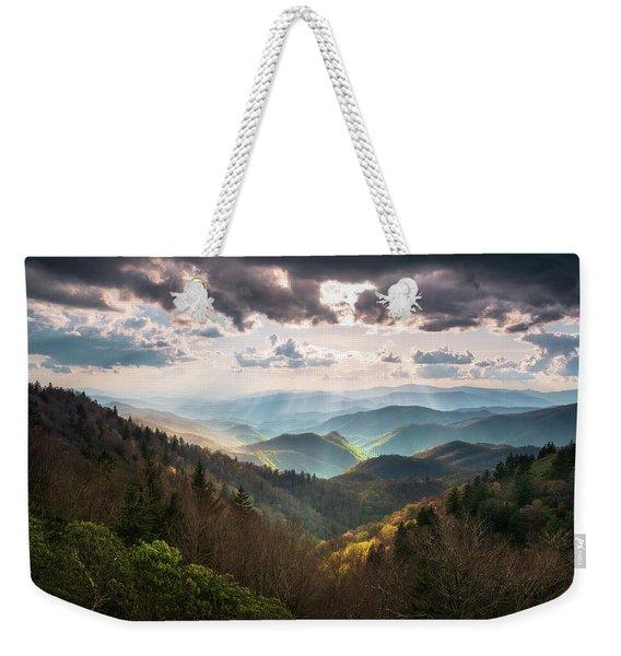 Great Smoky Mountains National Park North Carolina Scenic Landscape Weekender Tote Bag