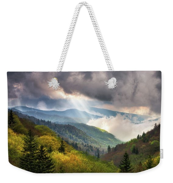 Great Smoky Mountains National Park Scenic Landscape Gatlinburg Tn Weekender Tote Bag