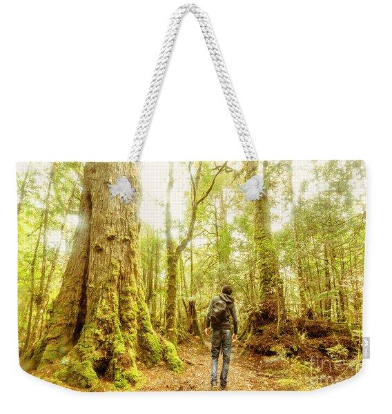 Great Tasmania Short Walks Weekender Tote Bag