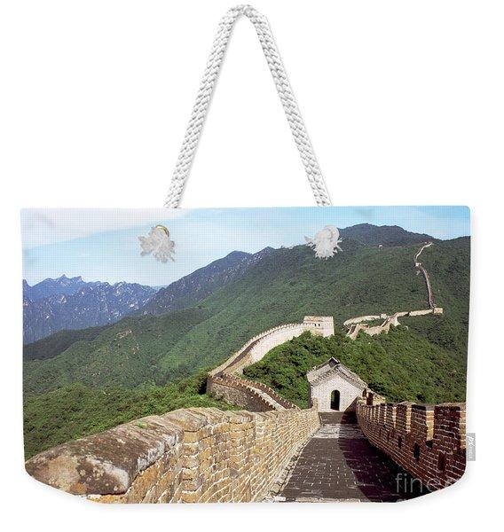Great Wall Weekender Tote Bag