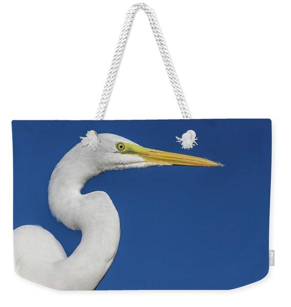 Great White Heron Weekender Tote Bag