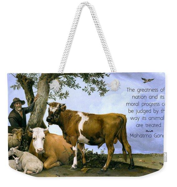 Greatness Of A Nation Weekender Tote Bag
