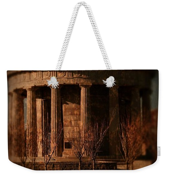 Greek Temple Monument War Memorial Weekender Tote Bag