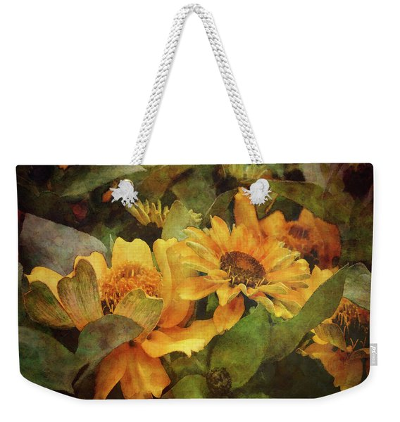 Green And Gold 1068 Idp_2 Weekender Tote Bag