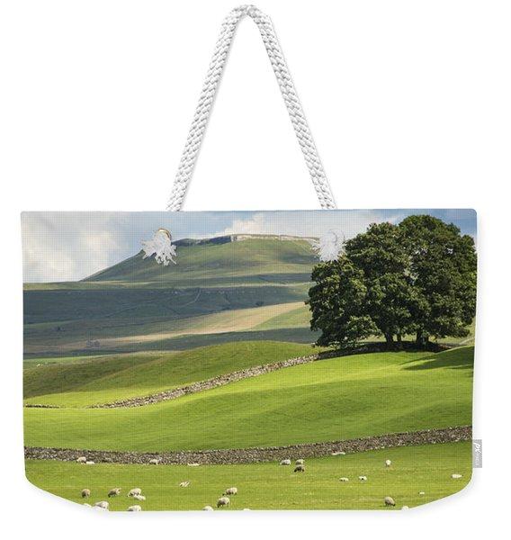 Green And Pleasant Land Weekender Tote Bag