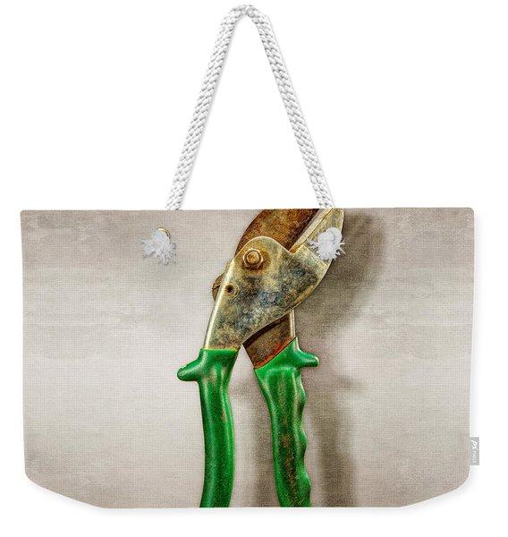Green Anvil Cutters Weekender Tote Bag