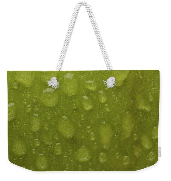 Green Apple Skin Weekender Tote Bag