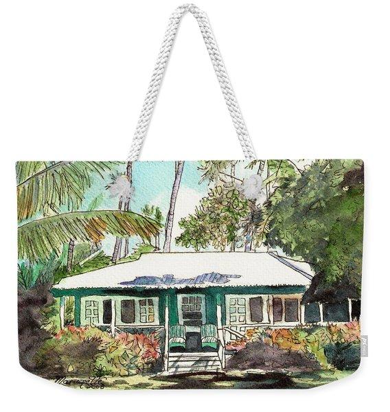 Green Cottage Weekender Tote Bag