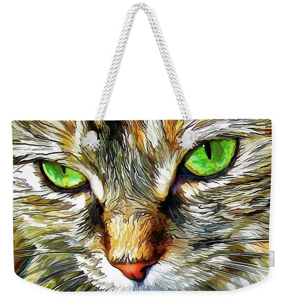 Zen Cat Weekender Tote Bag