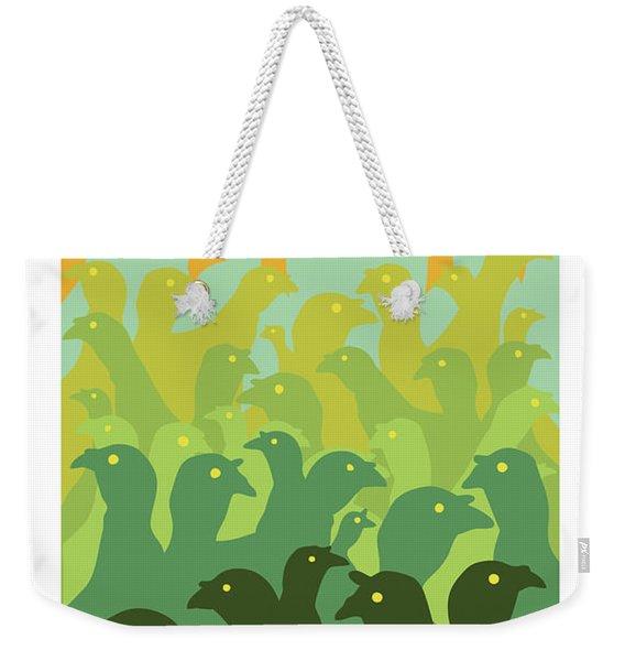 Green Fields Of Brookline Weekender Tote Bag