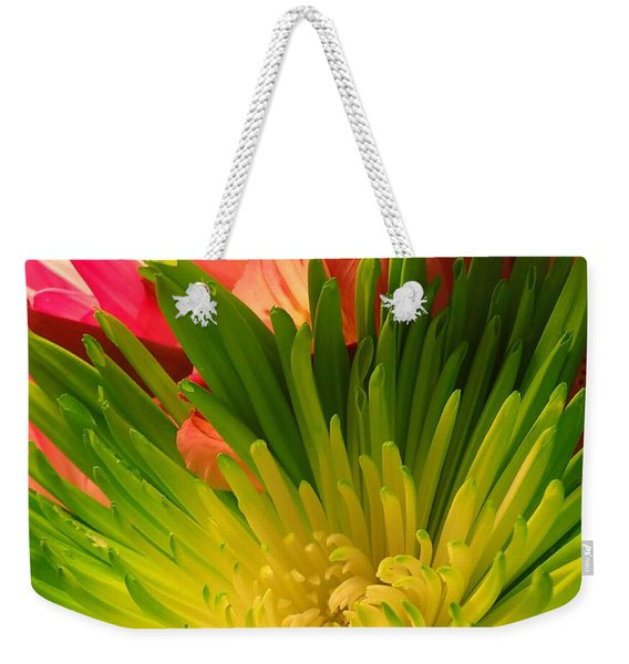 Green Focus Weekender Tote Bag