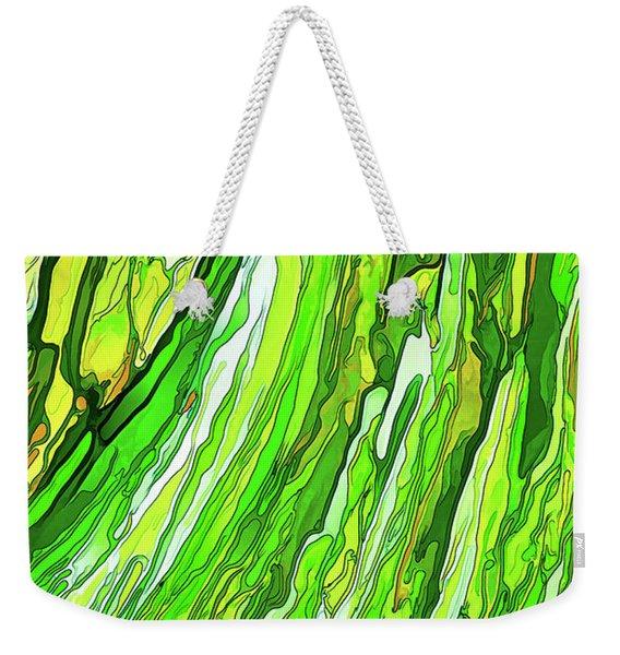 Green Garden Weekender Tote Bag