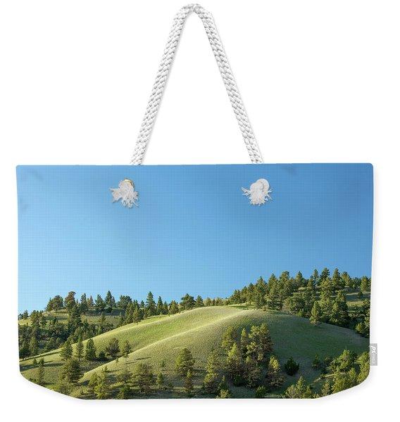 Green Hills Weekender Tote Bag