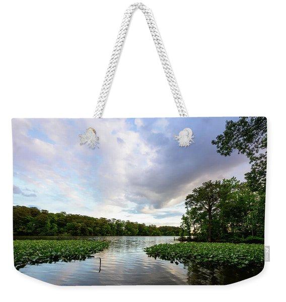 Green Lake Weekender Tote Bag