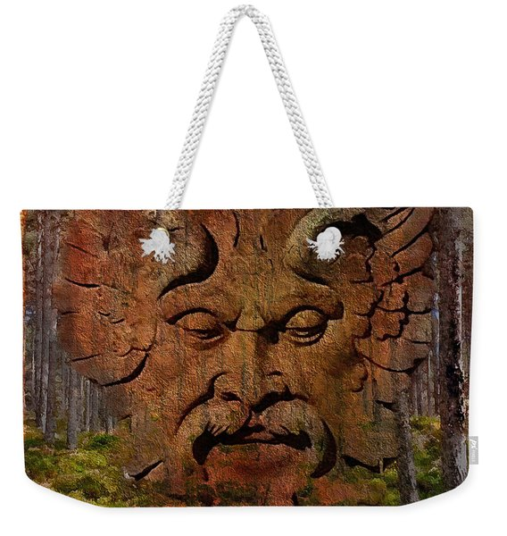 Green Man Of The Forest 2016 Weekender Tote Bag