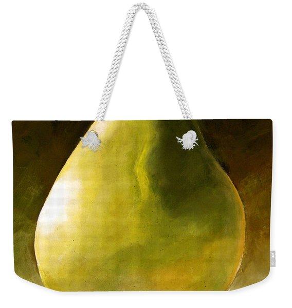 Green Pear Weekender Tote Bag