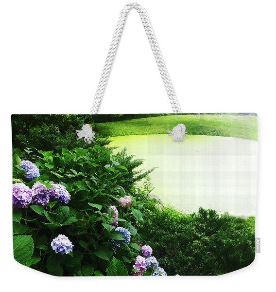 Green Pond Weekender Tote Bag