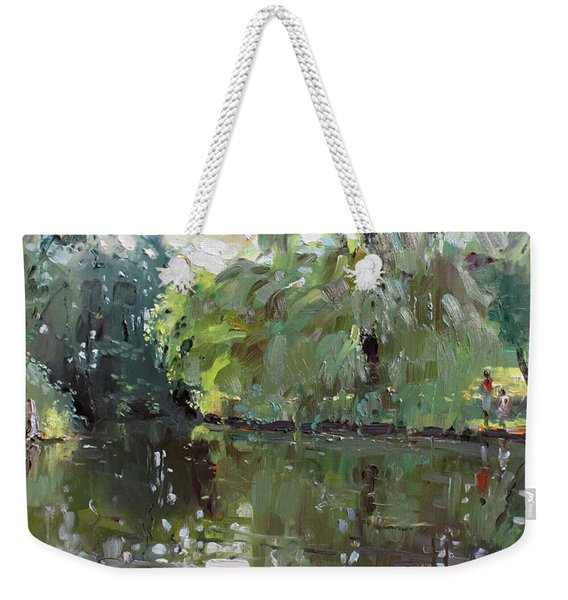Green Reflections  Weekender Tote Bag
