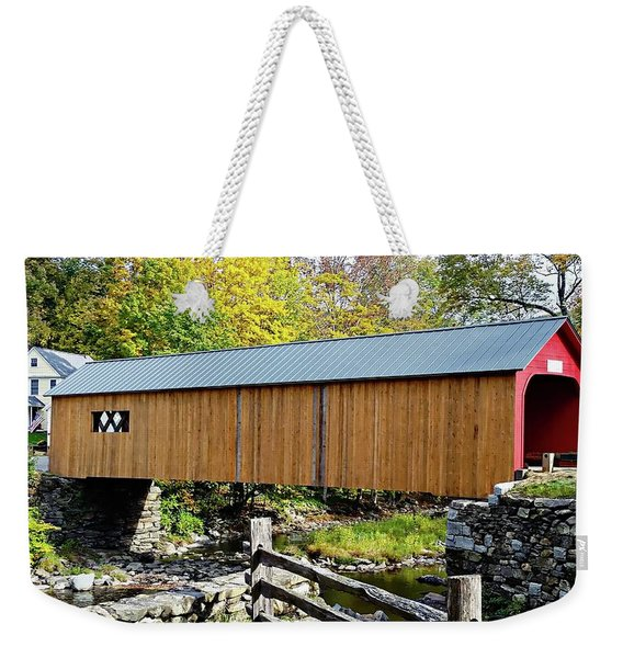 Green River Covered Bridge - Southern Vermont Weekender Tote Bag