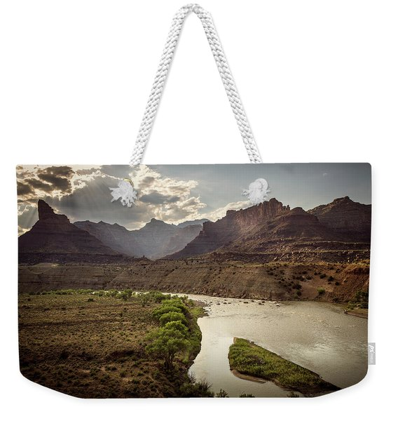 Green River, Utah Weekender Tote Bag