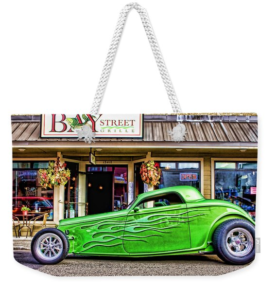 Green Roadster Weekender Tote Bag