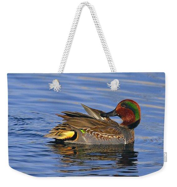 Green-winged Teal Weekender Tote Bag