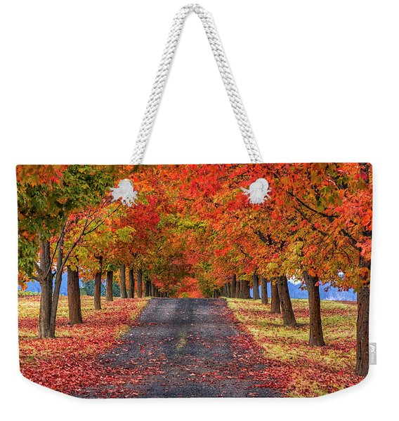 Greenbluff Autumn Weekender Tote Bag