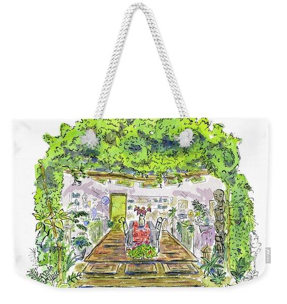 Greenhouse To Volcano Garden Arts Weekender Tote Bag
