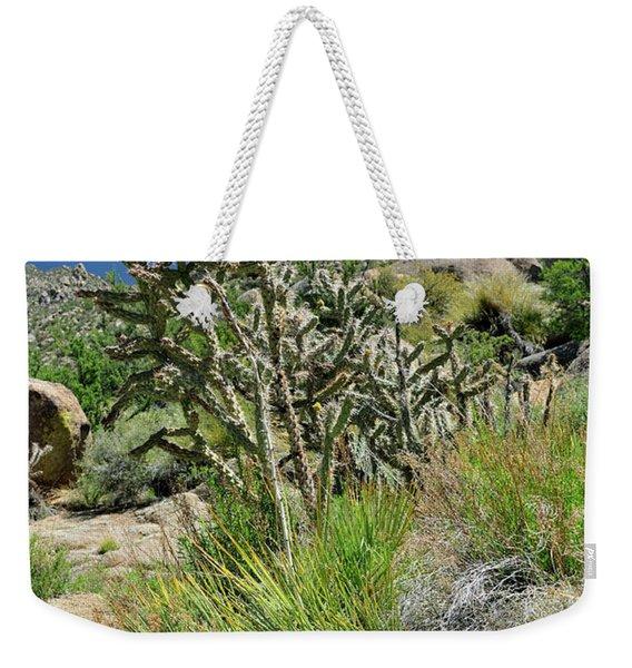 Greening Of The High Desert Weekender Tote Bag