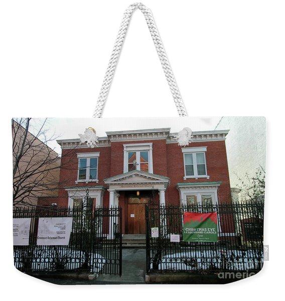 Greenpoint Reformed Church Weekender Tote Bag