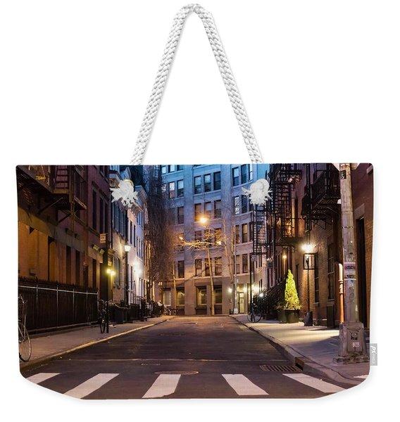 Greenwich Village Weekender Tote Bag