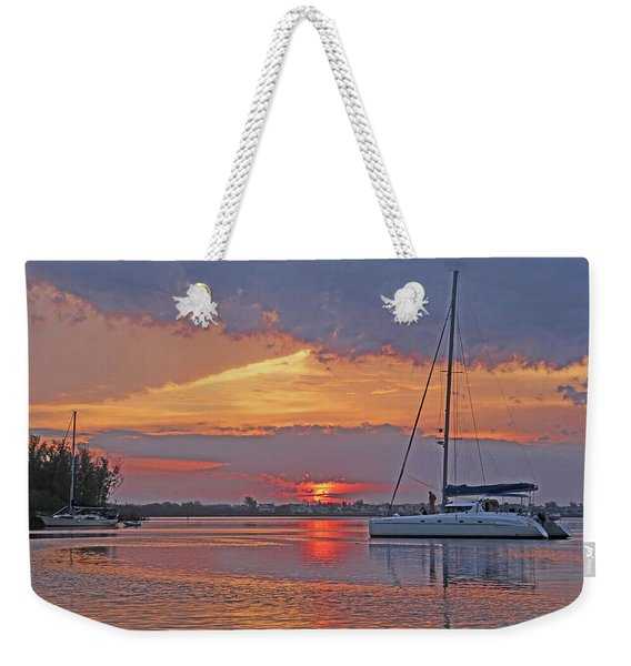Greet The Day Weekender Tote Bag