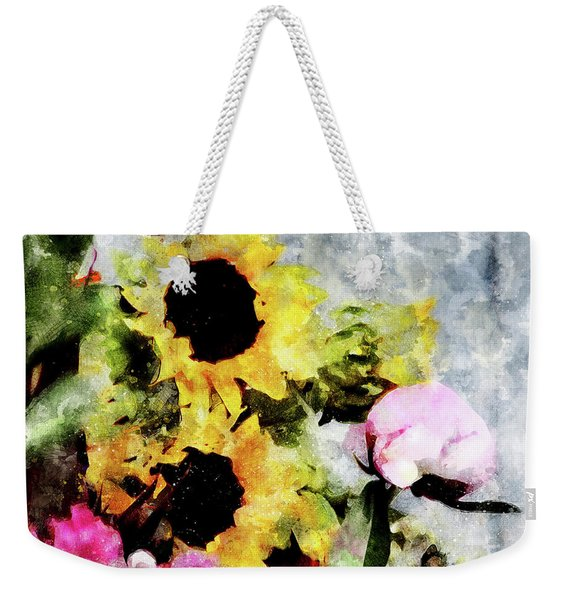 Greetings For A Sunny Day Weekender Tote Bag