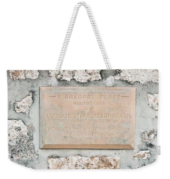 Gregory Place Weekender Tote Bag