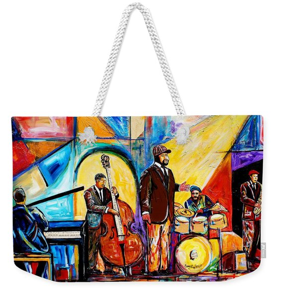 Gregory Porter And Band Weekender Tote Bag