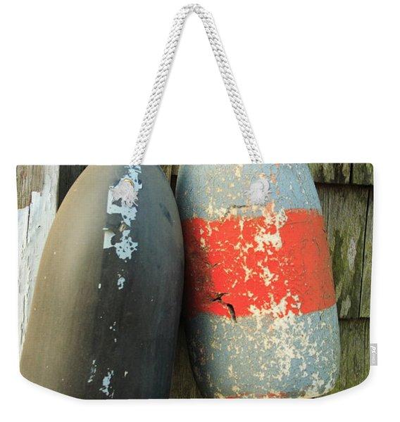 Grey Bouys Weekender Tote Bag