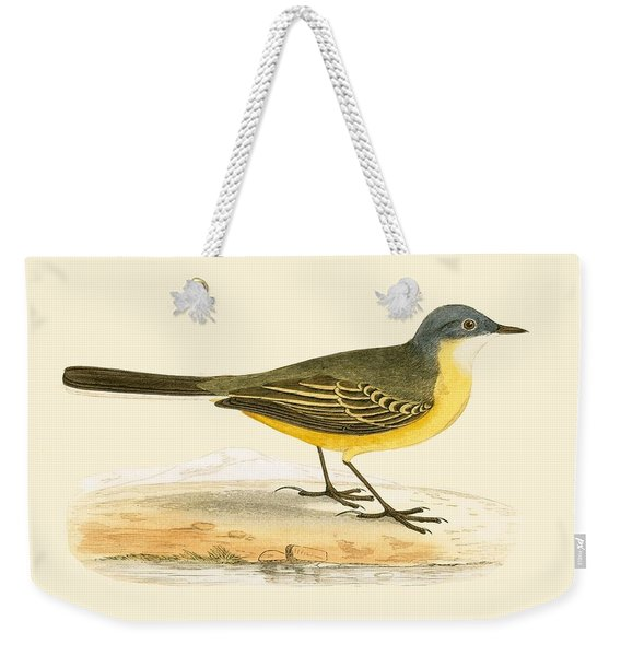 Grey Headed Yellow Wagtail Weekender Tote Bag