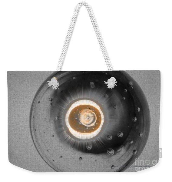 Grey Vision Weekender Tote Bag