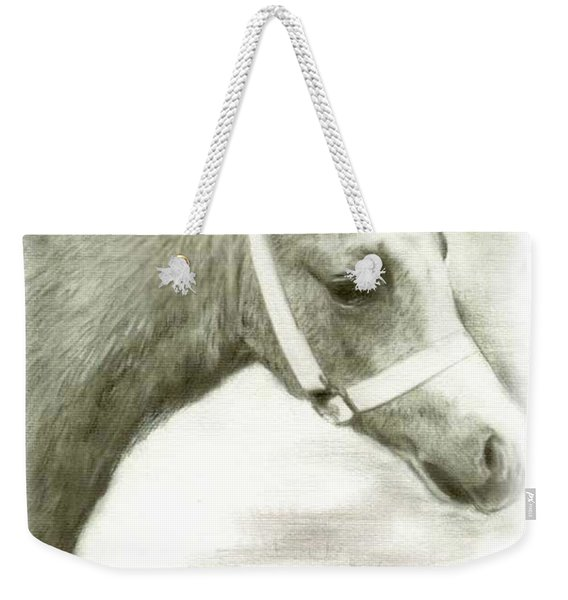 Grey Welsh Pony  Weekender Tote Bag