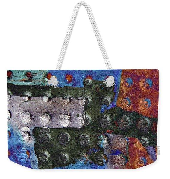 Gridiron Horn Weekender Tote Bag