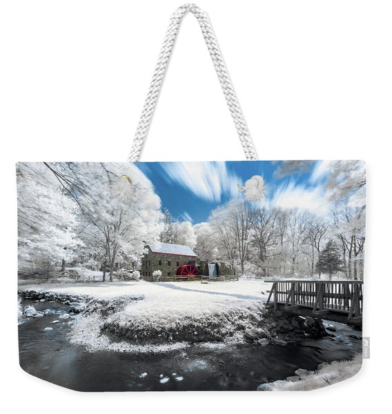 Grist Mill In Halespectrum Weekender Tote Bag