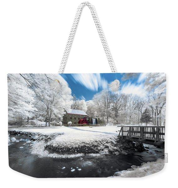 Grist Mill In Halespectrum Weekender Tote Bag