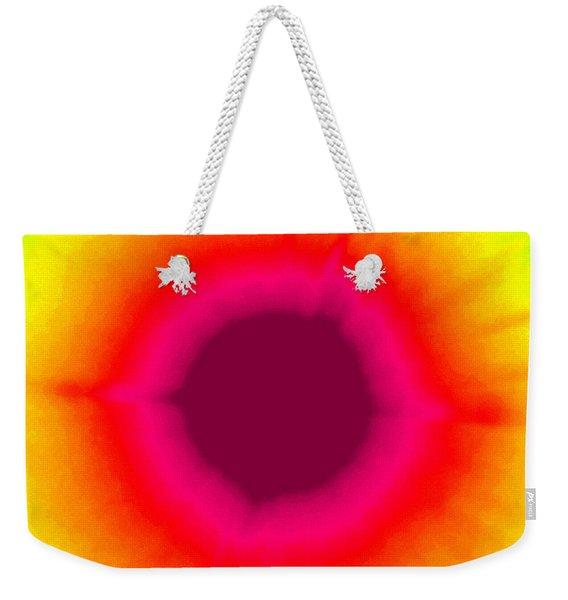 Groovy Sunshine Weekender Tote Bag